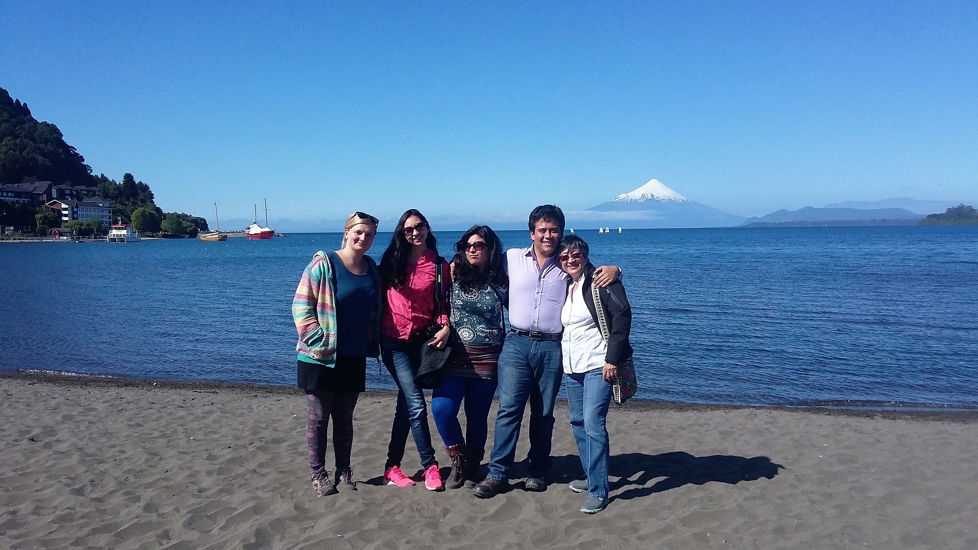 Helen Mack Chang visits the Campus Austral in Valdivia, Chile