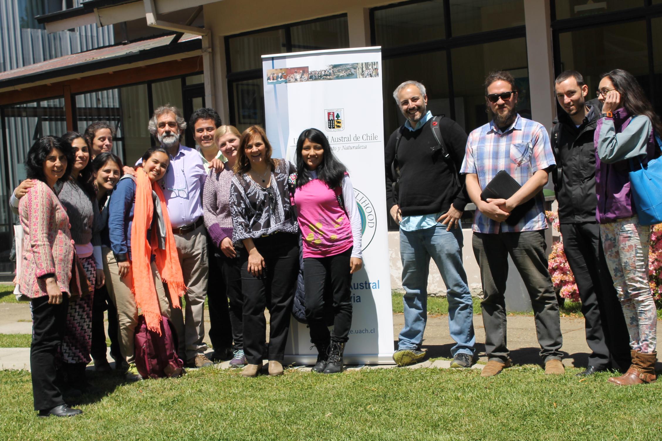 Juan Pablo Orrego visits the Right Livelihood College in Valdivia