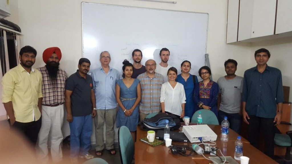 Collective photo on last day of the course. LUCSUS and TISS faculty together with some of students. Photo by Dr. Maryam Nastar, LUCSUS