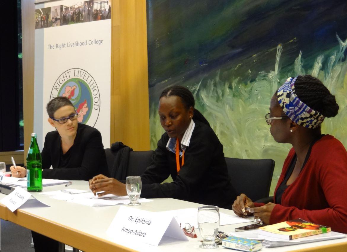 """Alternative Nobel Prize"" Laureate Kasha Nabagesera at the RLC Campus Bonn"