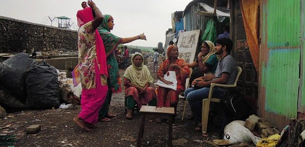 RLC PhD student Amit Kumar conducts fieldwork in Mumbai