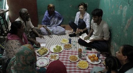 Sanjay Nagar community meets RLC researchers