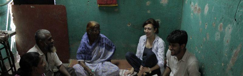 Sanjay Nagar community in Mumbai meets with RLC Bonn researchers