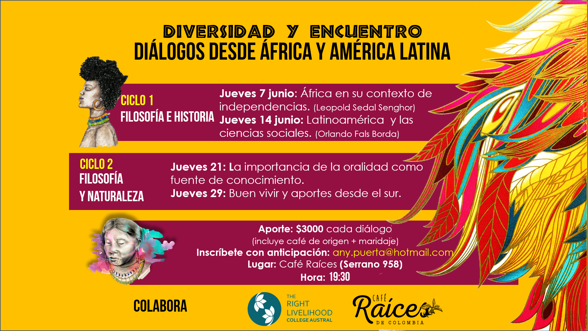RLC Valdivia: Dialogue between Africa and Latin America