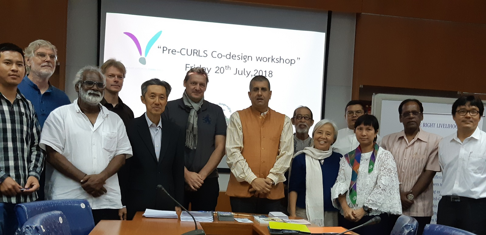 Co-Design workshop held at RLC Campus Bangkok