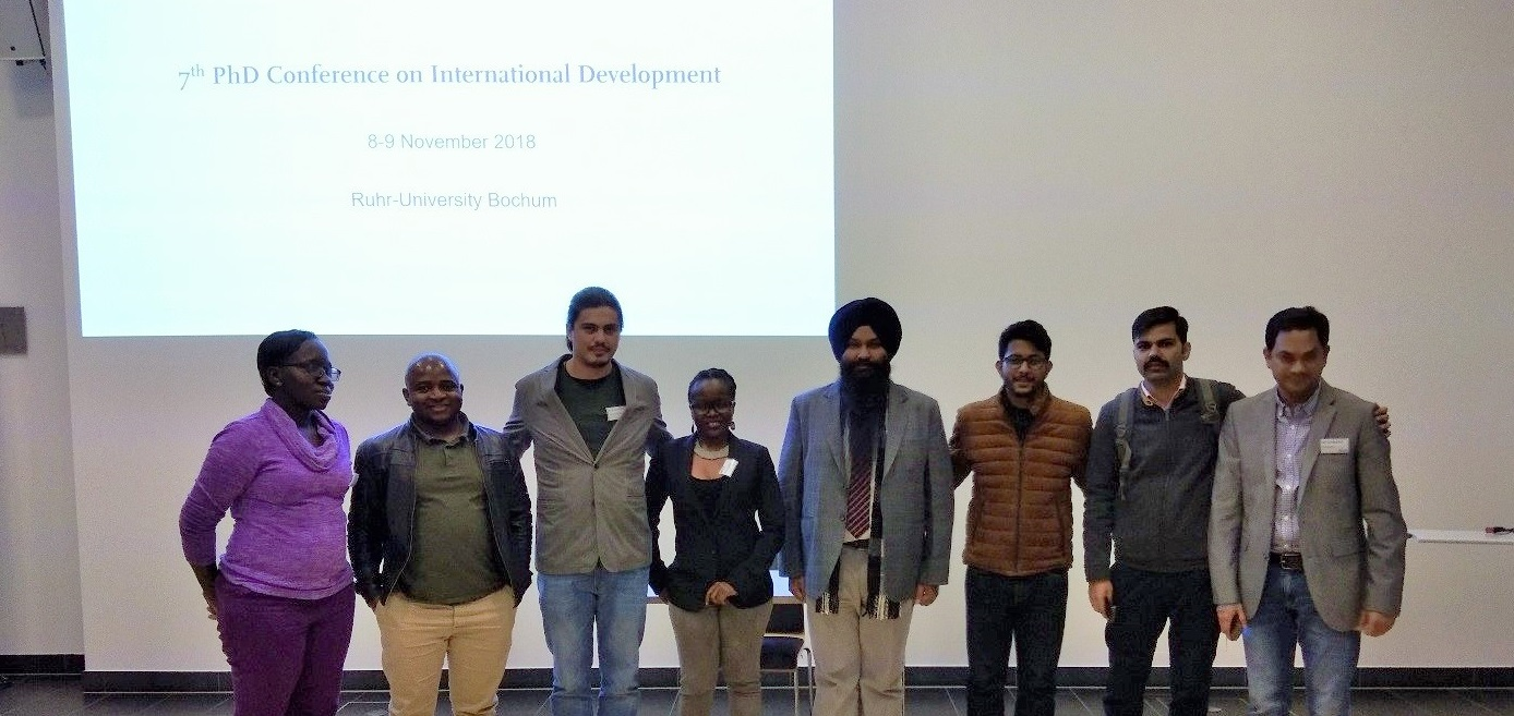 RLC Bonn: PhD Candidate visits Conference on International Development