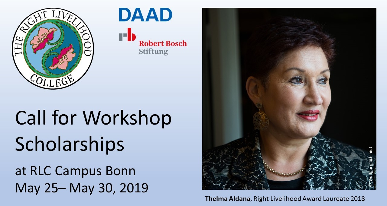 Scholarships for RLC Workshop in Bonn with Thelma Aldana