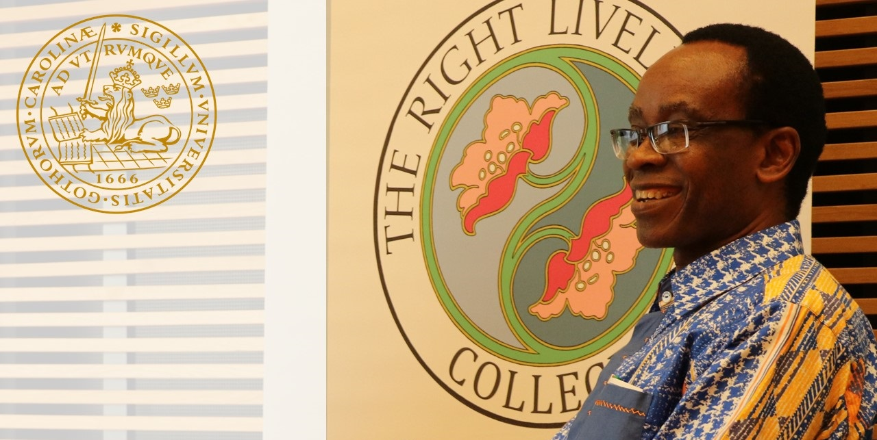 RLC Lund: Workshop with Laureate Nnimmo Bassey