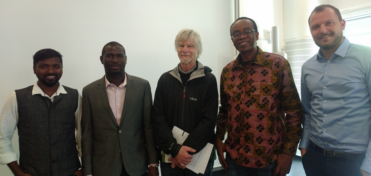 RLC scholars from Nigeria and India speak at the RLC Lund