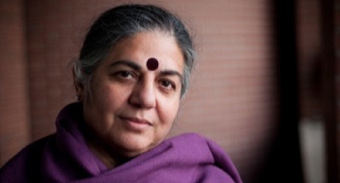 RLA Laureate Vandana Shiva at RLC Campus Santa Cruz