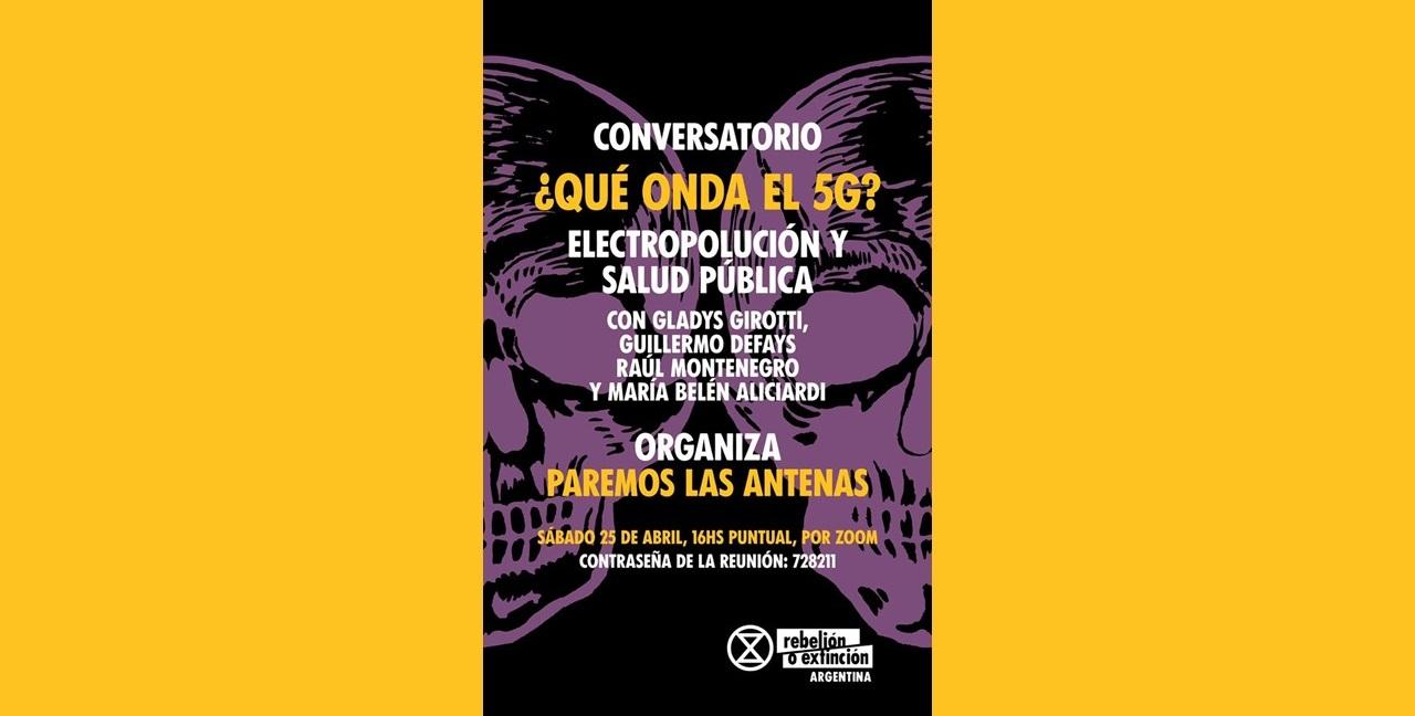 RLC Córdoba: online seminar on electro-pollution