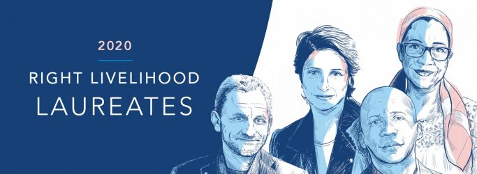 These are the 2020 Right Livelihood Award Laureates