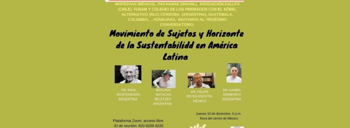 RLC Córdoba: Online Conversation on sustainability in Latin America