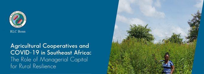 RLC Bonn: Dorothy Birungi publishes article on COVID-19 and sustainability
