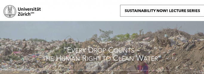 RL Centre Zurich kicks off Sustainability Now! online lecture series 2021