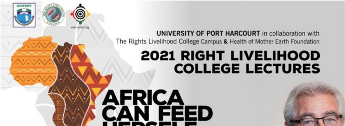 RLC Port Harcourt: Annual Lecture with Right Livelihood Award Laureate Hans Herren