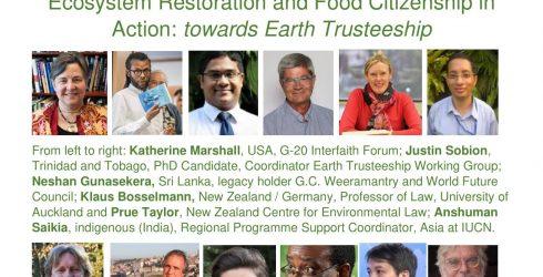 RLC Bangkok: Earth Trusteeship Working Group holds public session with RLA Laureates