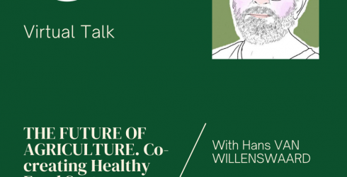 """RLC Bangkok: Hans van Willenswaard gives a virtual talk on """"the Future of Agriculture"""""""